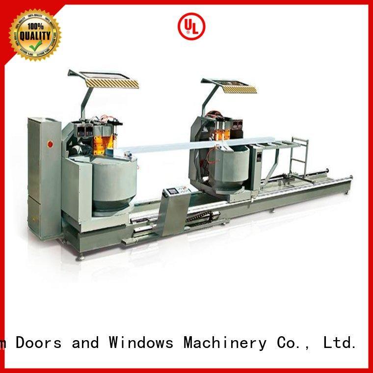 kingtool aluminium machinery eco-friendly metal cutting machine for heat-insulating materials in workshop