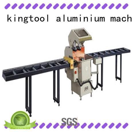 kingtool aluminium machinery eco-friendly cnc aluminium cutting machine for aluminum door in plant