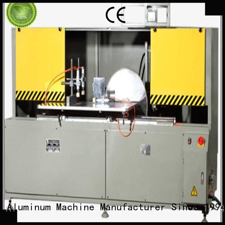 aluminum curtain wall machinery aluminium head single machine