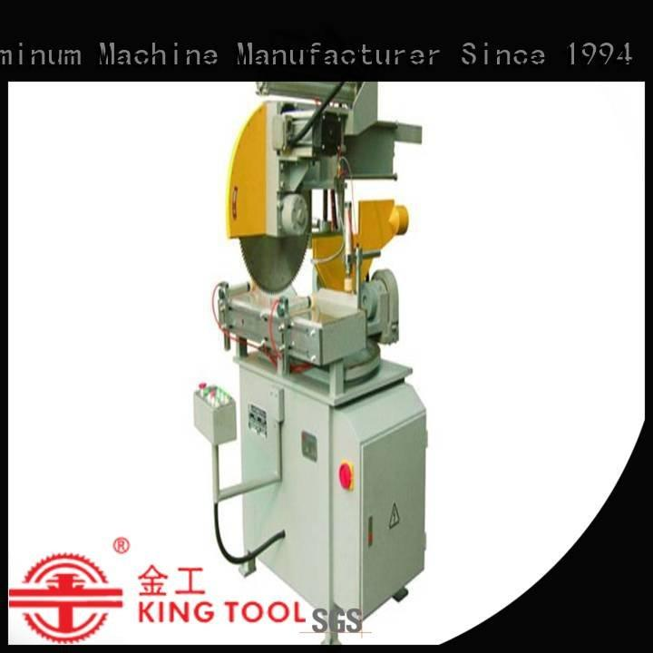 kingtool aluminium machinery thermalbreak aluminium cutting machine readout full