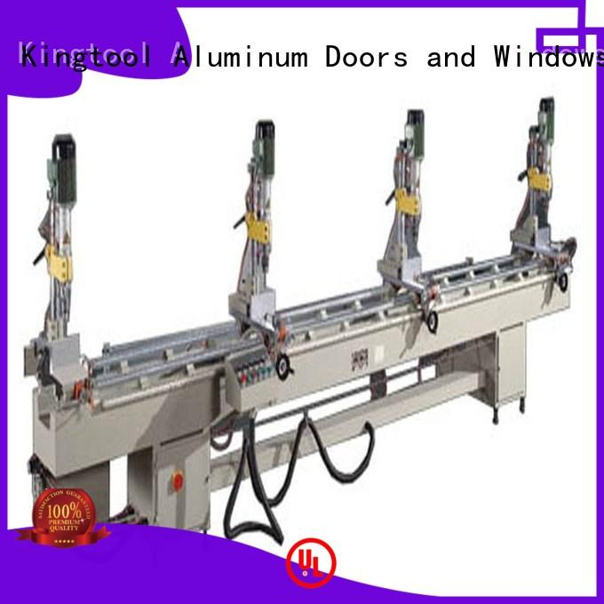 KT-368B Pneumatic Multi-Head Aluminum Drilling Machine