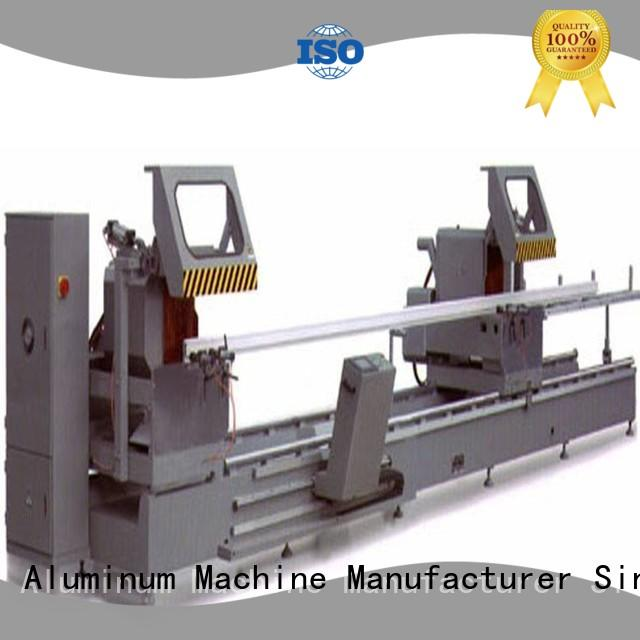 kingtool aluminium machinery best-selling cnc cutting machine for aluminum door in workshop