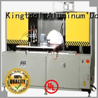 kingtool aluminium machinery eco-friendly aluminum curtain wall profile cutting machine for curtain wall profile in plant