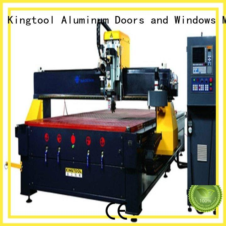kingtool aluminium machinery inexpensive cnc router for metal cutting inquire now for PVC sheets