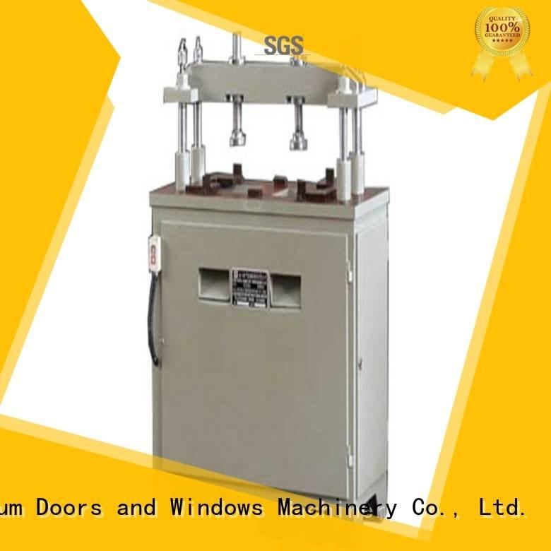 column profile pnumatic aluminium punching machine kingtool aluminium machinery