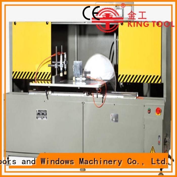 aluminum curtain wall machinery wall saw aluminum curtain wall cutting machine kingtool aluminium machinery Warranty