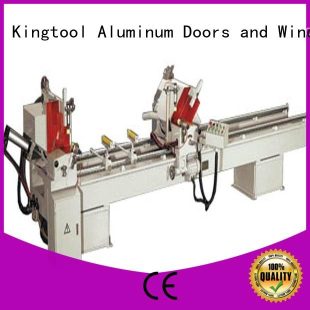 digital aluminum profile cutting machine multifunction in workshop kingtool aluminium machinery