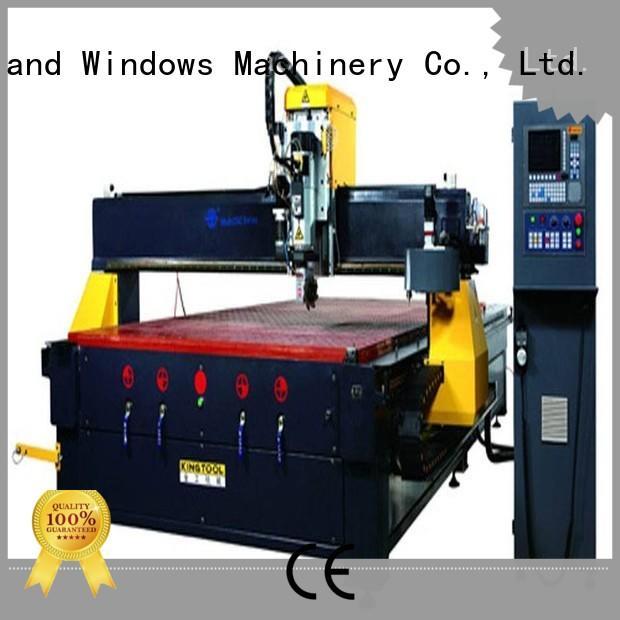 kingtool aluminium machinery best aluminium cnc router from China for cutting