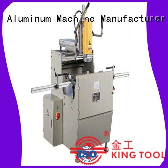 kingtool aluminium machinery Brand drilling duty precision aluminium router machine aluminum