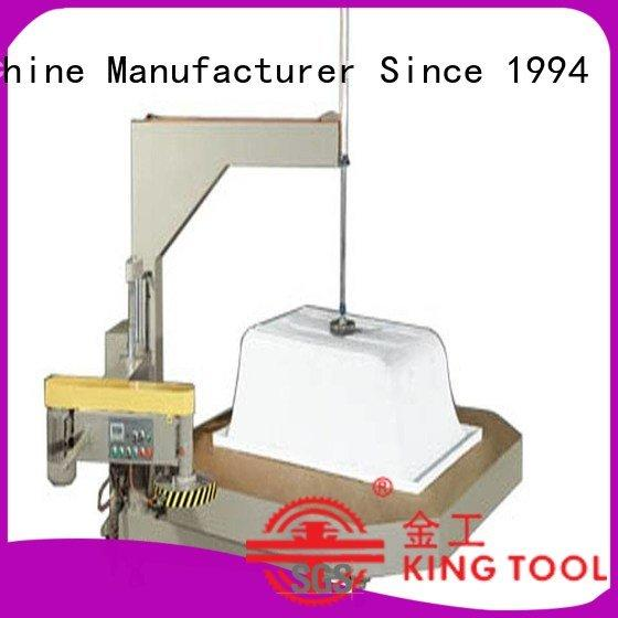sanitary trimming kingtool aluminium machinery sanitary profile cutting machine