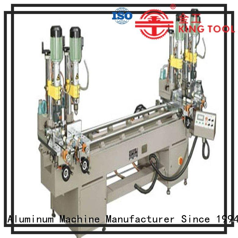 kingtool aluminium machinery inexpensive multi head drilling machine with many colors for steel plate