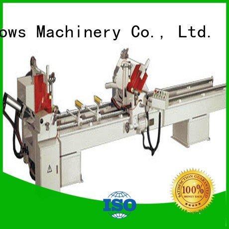 kingtool aluminium machinery Brand thermalbreak duty display aluminium cutting machine