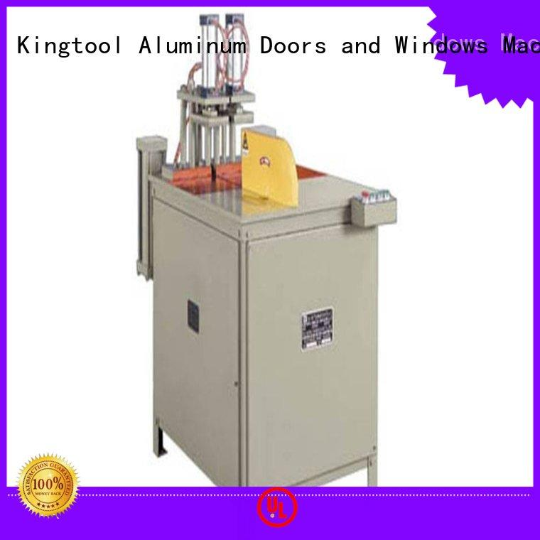 profile aluminum sheet cutting machine multifunction in factory kingtool aluminium machinery
