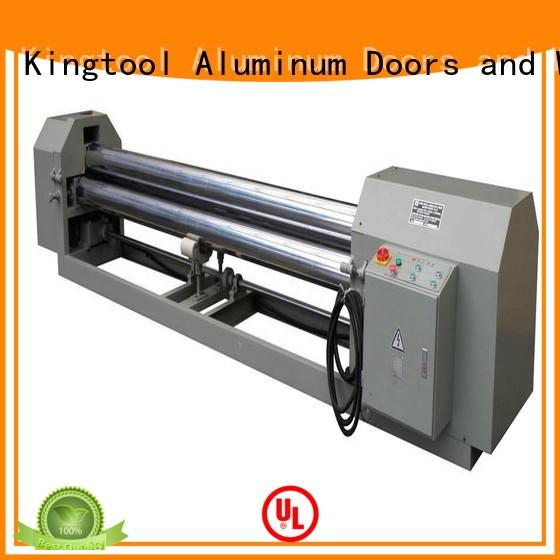 kingtool aluminium machinery bending aluminum pipe bender customization for PVC sheets