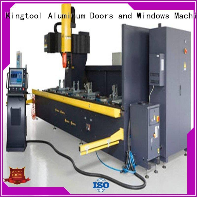 kingtool aluminium machinery eco-friendly cnc router for metal cutting with many colors for milling