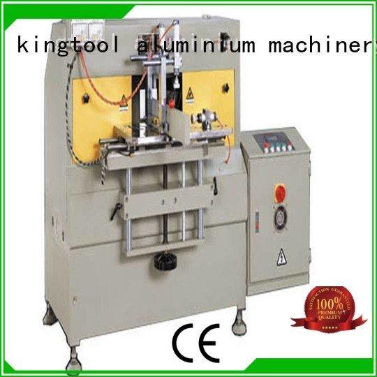 kingtool aluminium machinery Brand arc curtain aluminum end milling machine endmilling wall