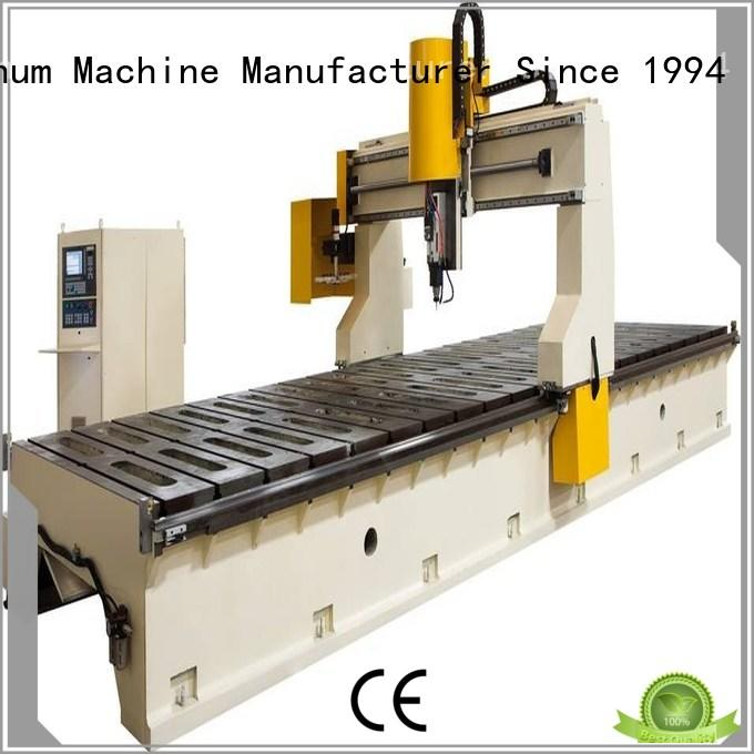 router cnc router machine price from China for PVC sheets kingtool aluminium machinery