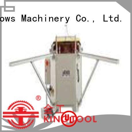 kingtool aluminium machinery eco-friendly aluminium window crimper at discount for milling
