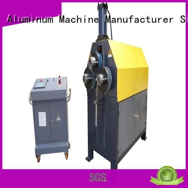aluminium bending machine 3roller machine kingtool aluminium machinery Brand
