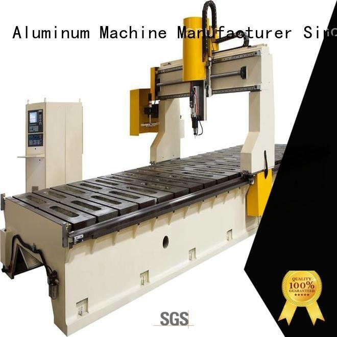 cnc router aluminum panel double aluminium router machine kingtool aluminium machinery Warranty