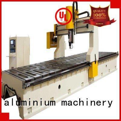 cnc router aluminum profile cutting aluminum panel kingtool aluminium machinery