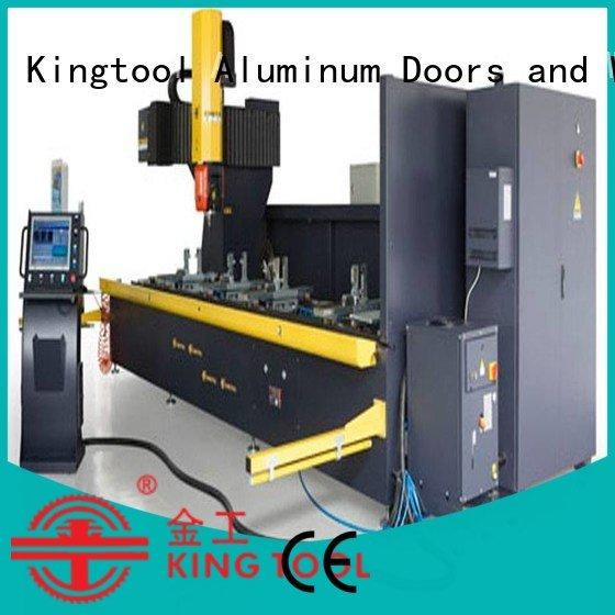 kingtool aluminium machinery cnc router aluminum double center cnc aluminium