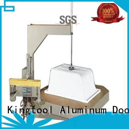 sanitary profile cutting machine sanitary machine turntable type Warranty kingtool aluminium machinery