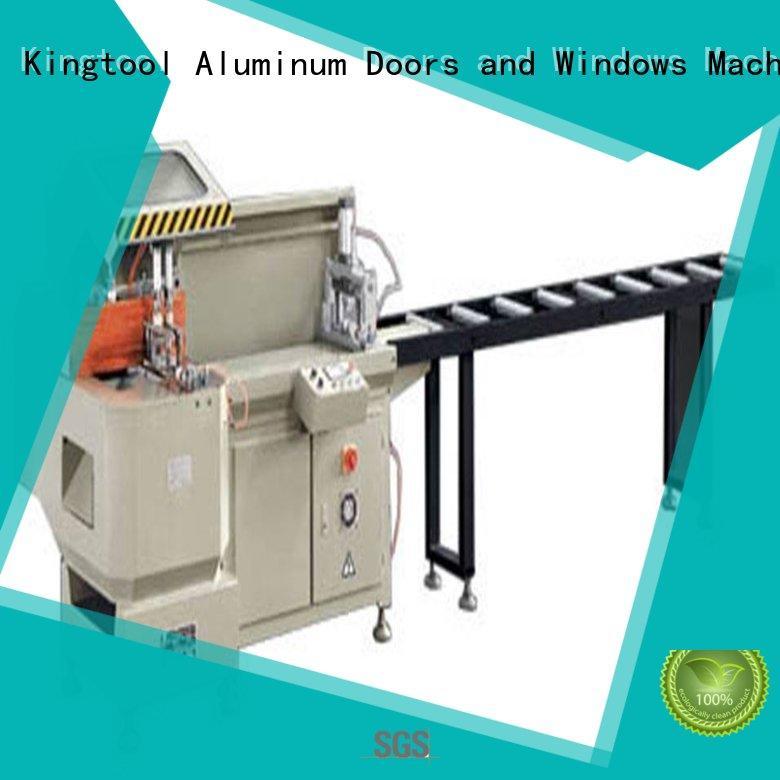 aluminum extrusion cutting machine heavyduty in plant kingtool aluminium machinery