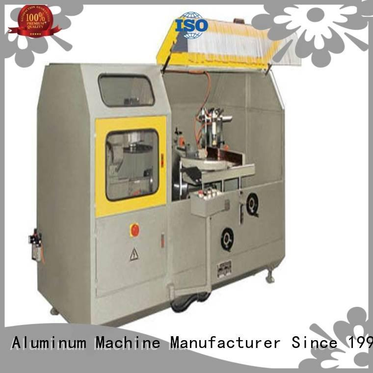 notching single curtain kingtool aluminium machinery aluminum curtain wall cutting machine