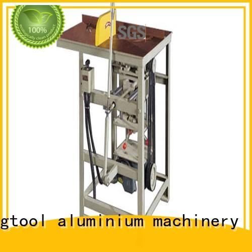 kingtool aluminium machinery inexpensive aluminium profile cutting machine for aluminum door in workshop