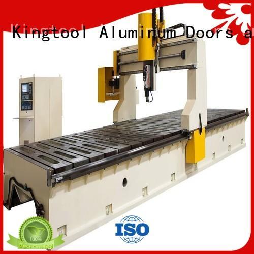 cnc router aluminum 3axis 5axis aluminium kingtool aluminium machinery Brand