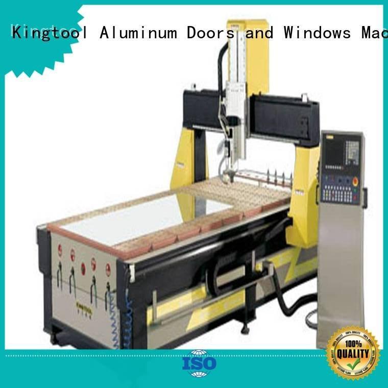 kingtool aluminium machinery machining panel profile cnc router aluminum aluminium