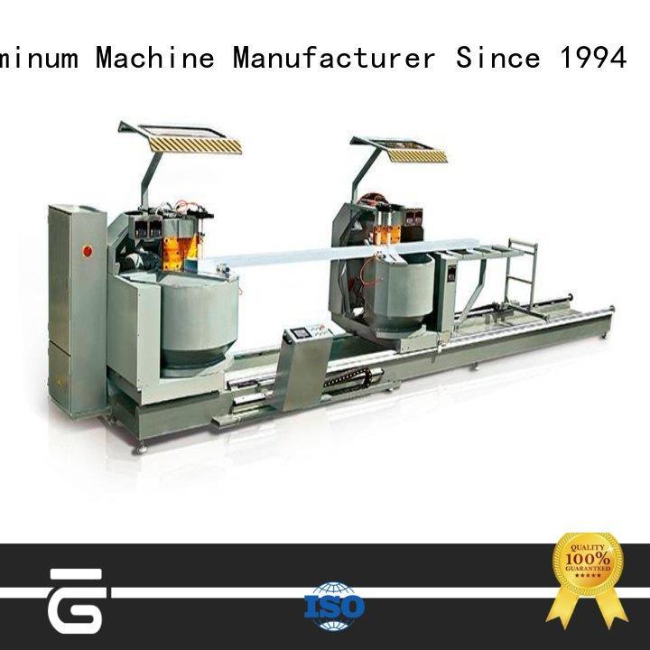 kingtool aluminium machinery heavy aluminium profile cutting machine for aluminum door in plant
