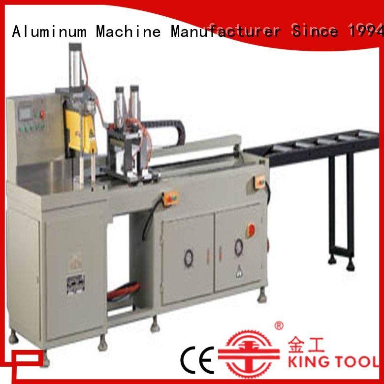 kingtool aluminium machinery best-selling automatic aluminium cutting machine single in workshop