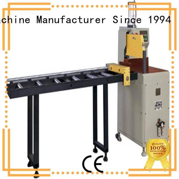 kingtool aluminium machinery stable aluminium profile cutting machine for aluminum door in workshop