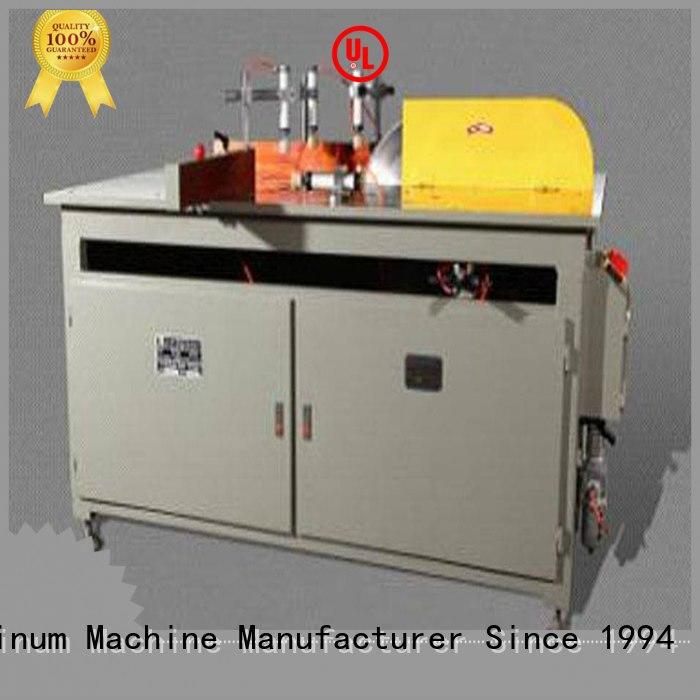kingtool aluminium machinery cutting cnc cutting machine for aluminum door in workshop