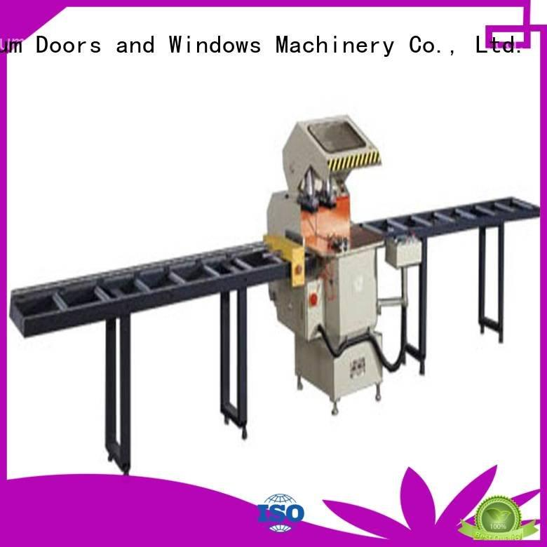 Hot aluminium cutting machine price auto feeding double type kingtool aluminium machinery Brand
