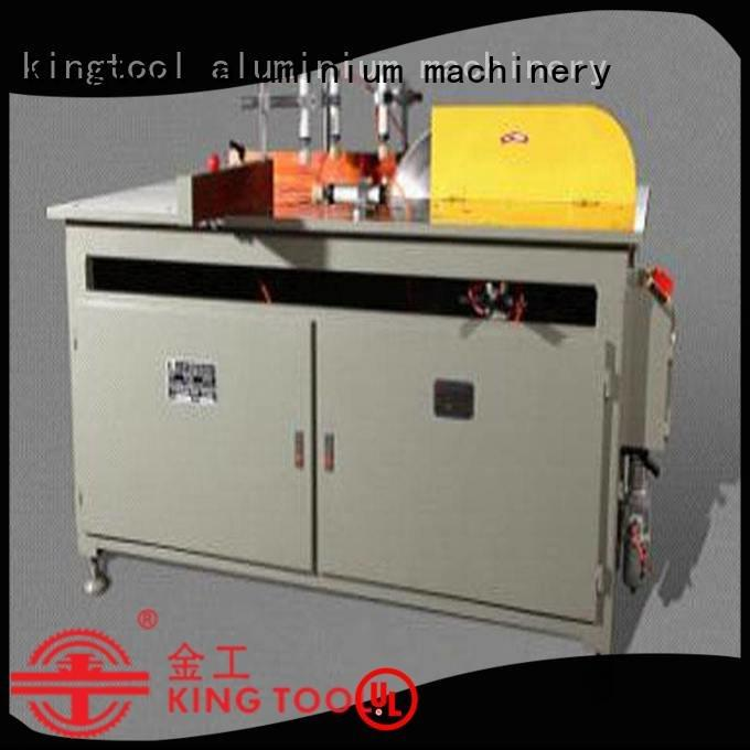 kingtool aluminium machinery curtain full window aluminium cutting machine price angle