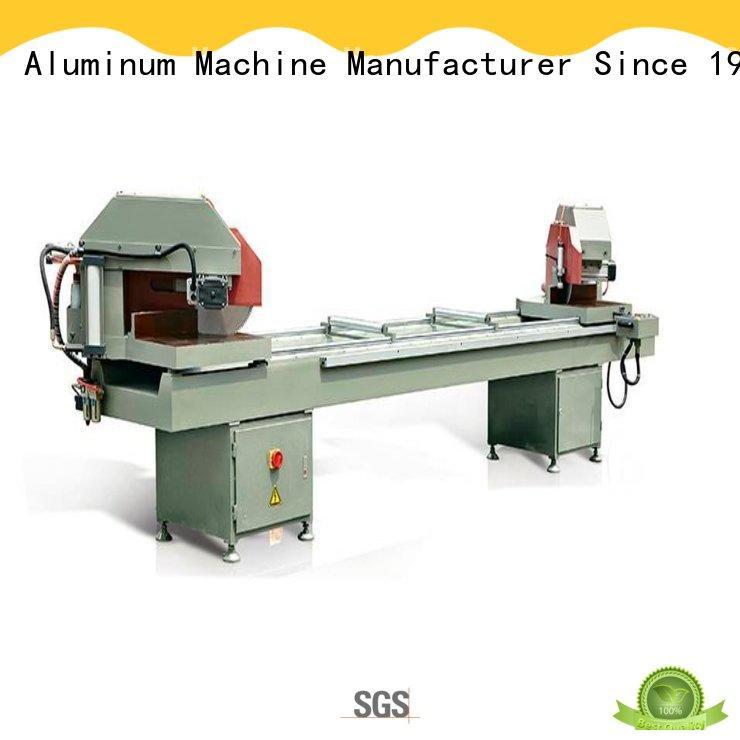 kingtool aluminium machinery manual aluminium section cutting machine for aluminum door in factory