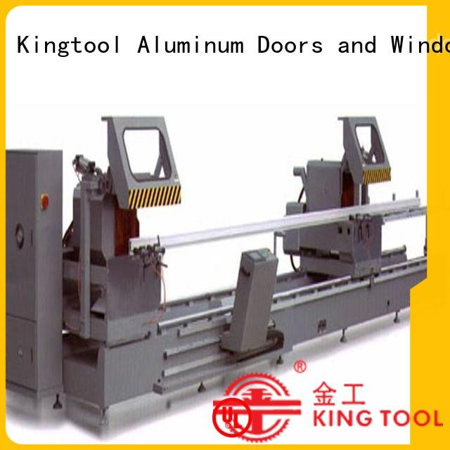 KT-383F-D 3-Axis Automatic Type CNC Double Mitre Saw Aluminum Cutting Machine
