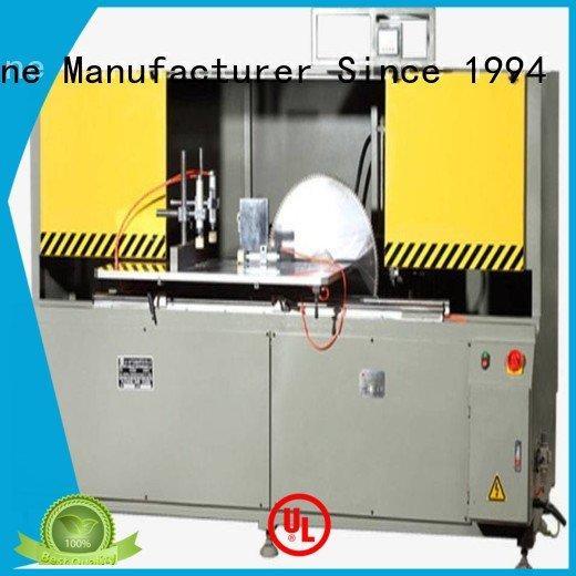 OEM aluminum curtain wall cutting machine wall cutting aluminum curtain wall machinery