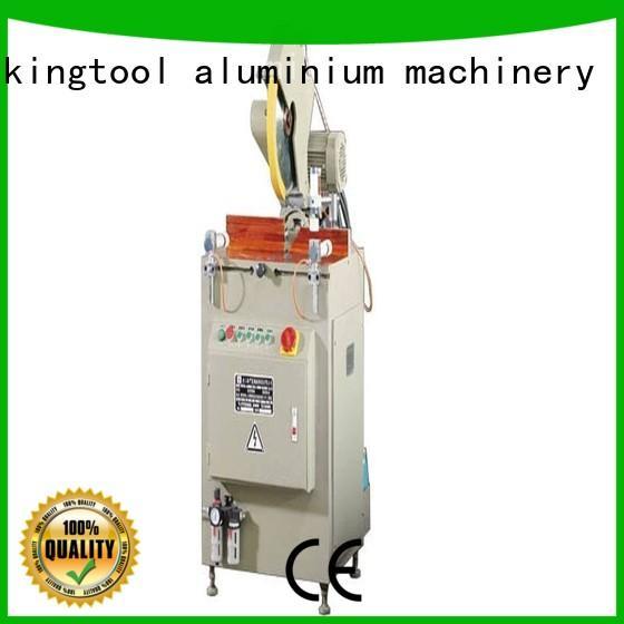 kingtool aluminium machinery cutting electronic cutting machine for aluminum curtain wall in factory