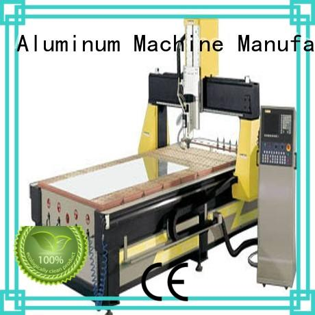Wholesale center aluminium router machine kingtool aluminium machinery Brand