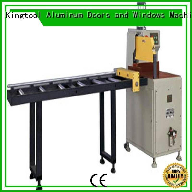 aluminium cutting machine price multifunction aluminium cutting machine kingtool aluminium machinery