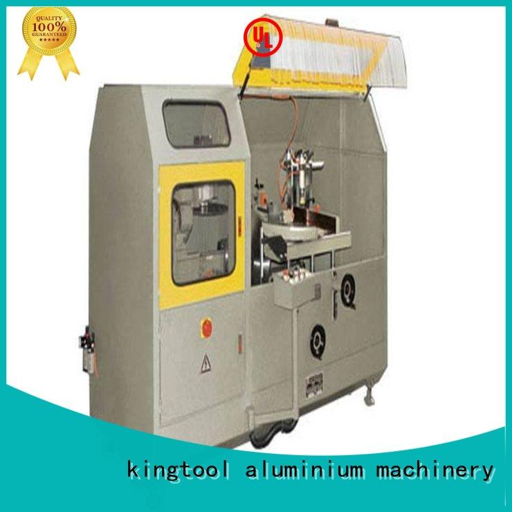kingtool aluminium machinery stable aluminum fabrication machine for door profile in plant