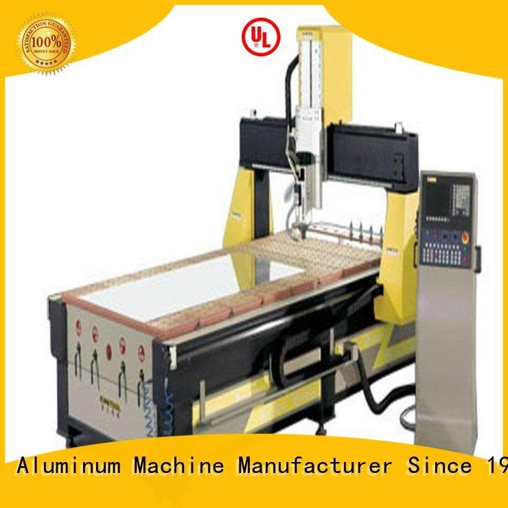 Quality kingtool aluminium machinery Brand center head aluminium router machine