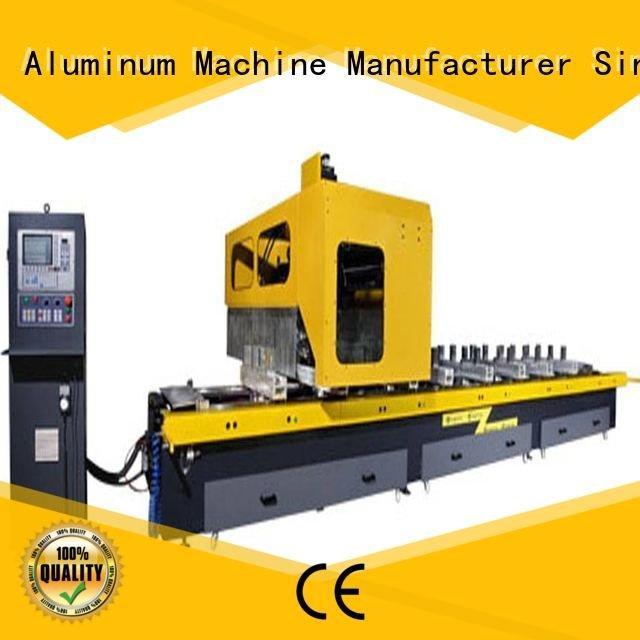kingtool aluminium machinery cutting cnc router aluminum double