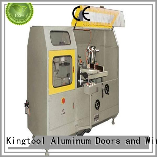 Hot aluminum curtain wall machinery notching kingtool aluminium machinery Brand