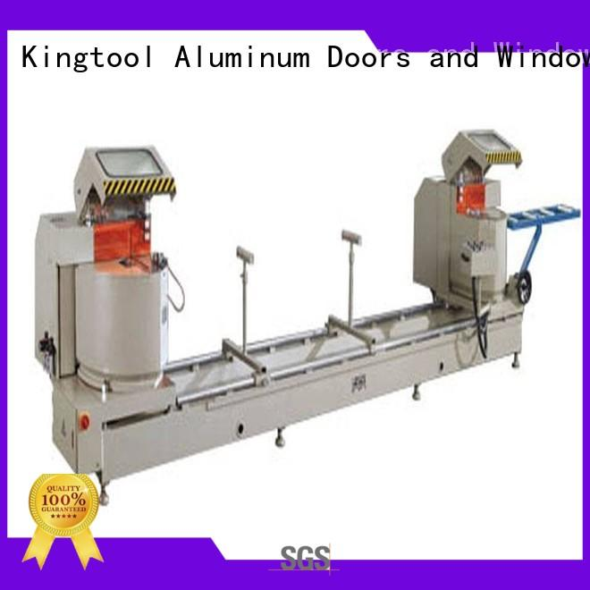 Wholesale curtain aluminium cutting machine price full kingtool aluminium machinery Brand