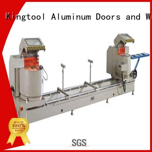 kingtool aluminium machinery inexpensive metal cutting machine for aluminum window in workshop